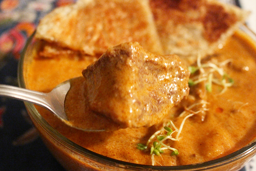 lamb coconut curry